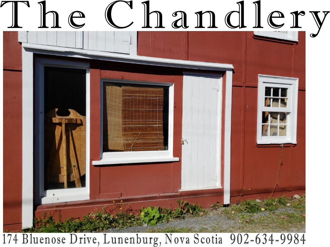 Lunenburg Chandlery storefront at 174 Bluenose Drive